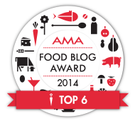 AMA Food Blog Award 2014 - Top 6