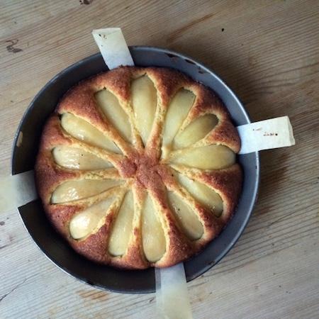 Birnenkuchen mit Sternanis