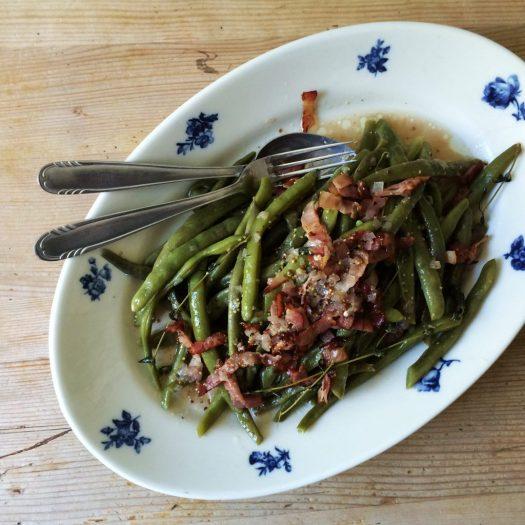 Stangenbohnensalat Speck_l